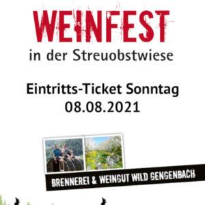 Weinfest WILD 2021 Sonntag